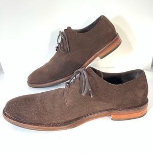 Cole Haan Shoes Lunar Grand Leather Wingtip Oxfords